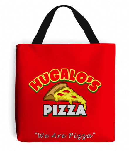 Hugalos Pizza Tote Bag Talladega Nights Step Brothers